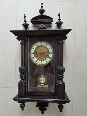 Striking Wall Clock 1900's Antique (can deliver)