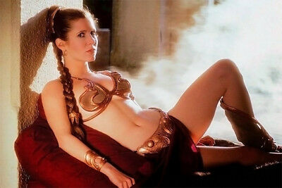 Hot CARRIE FISHER sexy PRINCESS LEAH  Celebrity photo 8x11 BUY 2, GET 1 FREE