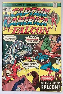 Captain America and the Falcon #191 Marvel 1975 approx VFN