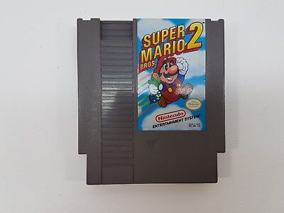 Super Mario Bros. 2 - (Nintendo NES) Cleaned, Tested, Authentic! Game Only