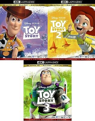 Toy Story 1,2 and 3 (4K Ultra HD)(UHD)(Atmos)