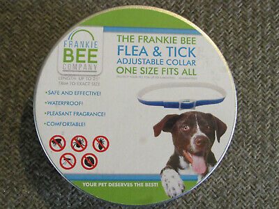 Flea & Tick Adjustable Collar For Dogs - One Size Fits All - Length Up To 25""