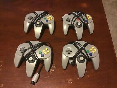 Nintendo 64 Controllers - 4 Available