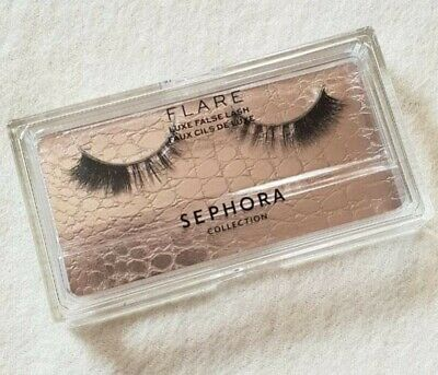 4da7713bcb5 SEPHORA FLARE LASHES Luxe False Lash In Clear Case Natural Hair New ...