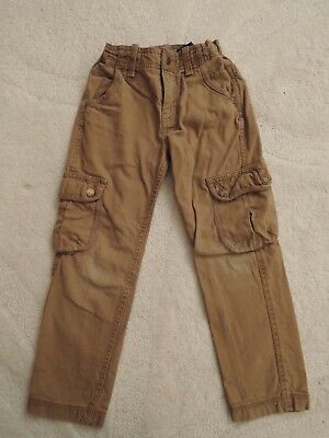 Fat Face Boys Stone Cargo Trousers Age 6