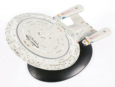 Eaglemoss Star Trek USS Enterprise NCC-1701-D with Magazine EM-ST0001