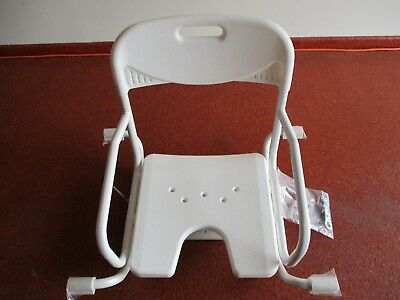 NEW - Over bath chair with swivel seat  - p/up GC