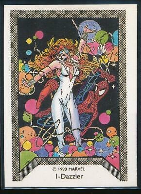 1990 Marvel Spider-Man Team-Up Trading Card #1 Dazzler