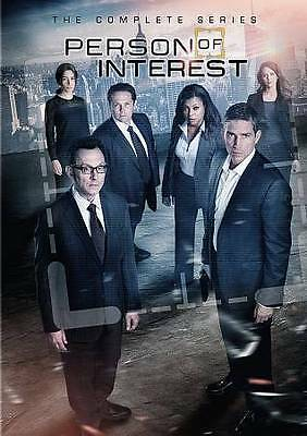 Person Of Interest New The Complete Series Box Set- Seasons 1-5 & Free Shipping