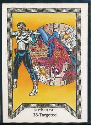 1990 Marvel Spider-Man Team-Up Trading Card #38 Targeted