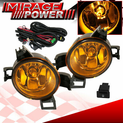 For 2005-2006 Nissan Altima Driving Yellow Bumper Fog Lights Replacement Jdm