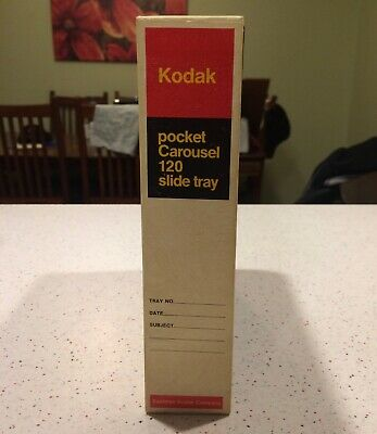 Kodak Pocket Carousel 120, slide tray in original box! They Are Used!