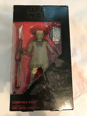 SWB Star Wars The Force Awakens Constable Zuvio  Figure 3.75 Inch