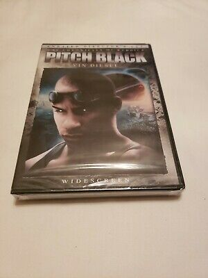PITCH BLACK (DVD, 2004, Unrated, Directors Cut, Widescreen Edition) NEW