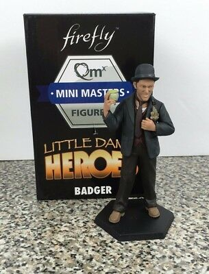 Firefly Little Damn Heroes Badger Mini Masters Qmx Figure