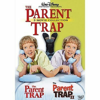 The Parent Trap (1) & The Parent Trap 2 (II) (DVD) Hayley Mills  ***BRAND NEW***
