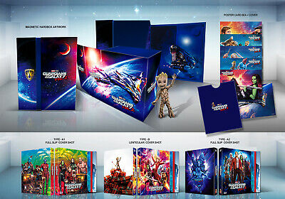 (Preorder) GUARDIANS OF THE GALAXY VOL. 2 Blu-ray [2D+3D] (STEELBOOK), One-Click