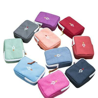 Travel Data Cable Charger Storage Bag Power Pack Pouch Case Organizer LI