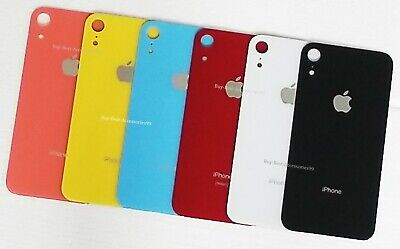 New Rear Glass Battery Cover Back Housing Door Replacement For iPhone XR
