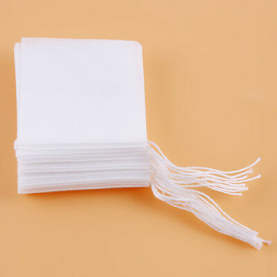 Empty Tea Bags Filter Loose Paper Teabags Herb String Seal  Filter Paper Herb SO