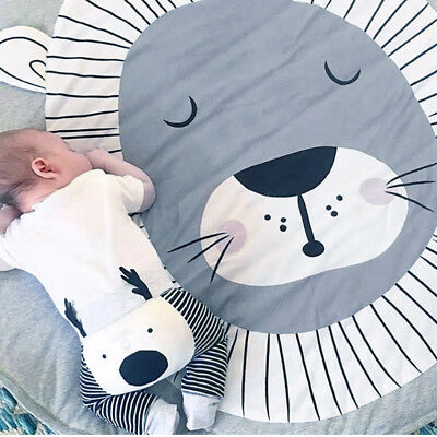 Soft Newborn Baby Play Mat Infant Thick Cotton Cushion Kids Floor Rug Crawling