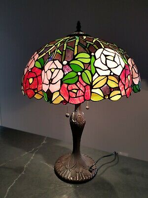 Tiffany Stained Glass Reproduction table lamp