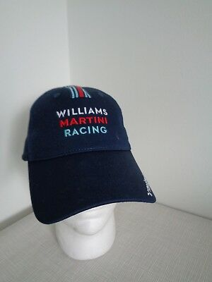 BNWT Hackett Navy Williams Martini Racing Sport Cap Hat one size Gift Idea!!