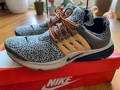b777c28d1066 Nike Air Presto SE QS Safari Size MEDIUM 10-11 Neutral Grey Men s Supreme  Bape