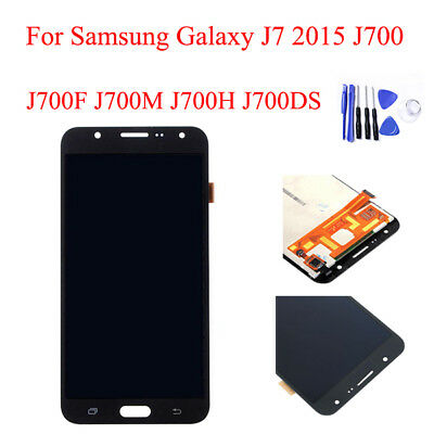 For Samsung Galaxy J7 2015 J700 Touch Screen Digitizer LCD Display +Tool Replace