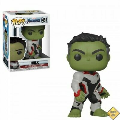Avengers Endgame Pop! Movies Vinyl Figurine Hulk 9 Cm -  - 12/04/2019