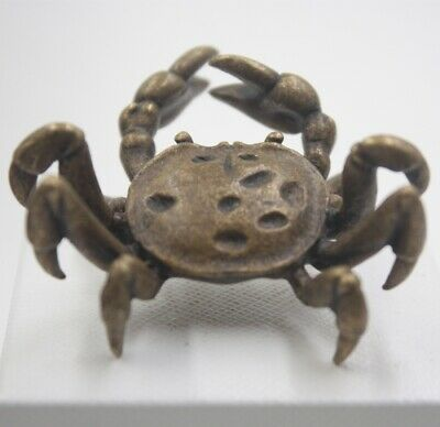Handmade Craft Solid Copper Crab Statue Best Collection