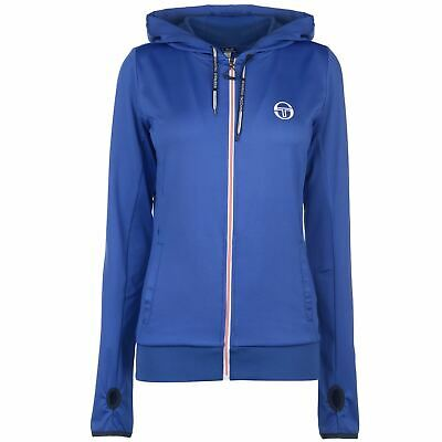Sergio Tacchini Womens Ella Track Jacket Ladies Long Sleeve Top Sweater Jumper
