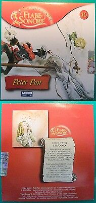 FIABE SONORE PETER PAN 2012 N.10,CD AUDIO NUOVO,FAVOLE CAPITAN UNCINO DARLING #c