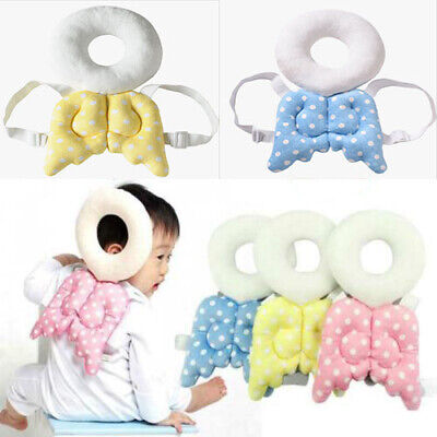Baby Kid Toddler Walking Crawling Head Neck Protector Wings Safety Pad Pillow