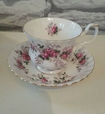 Royal Albert Lavender Rose Tea Cup and Saucer