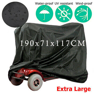Heavy Duty Simplantex Mobility Scooter Storage Rain Cover Waterproof Disability
