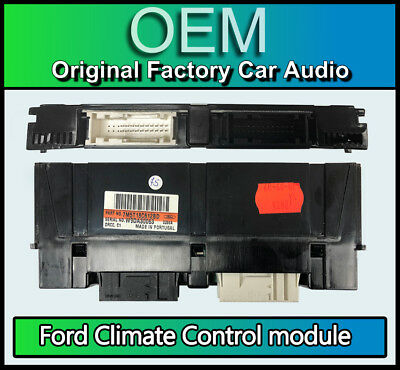 Ford Climate Control Aircon heater module, 7M5T18C612BD, made for HS RNS Sat Nav