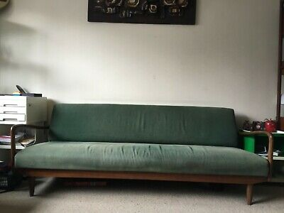 Greaves and Thomas Put-U-up 60's sofa bed vintage retro mis century daybed