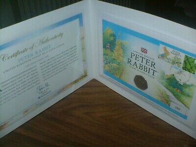 Peter Rabbit 50p 2019 Stamp Coin Cover  ONLY 995 PRODUCED IN HAND READY TO POST