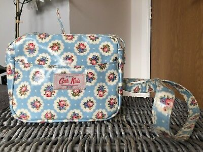 Cath Kidston  Kids Hand Bag/ Cross Body Bag Blue Floral Vgc