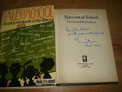 Tales Out of School: Early Misdeeds of the Famous,Christian Brann,SIGNED COPY HB