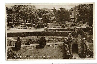 CPA-Carte postale- Royaume Uni -Guildford - Castle grounds from Keep VM2230
