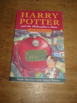 Harry Potter and the Philosophers Stone J.k. Rowling.2000 P/B.BOOK RUN 60