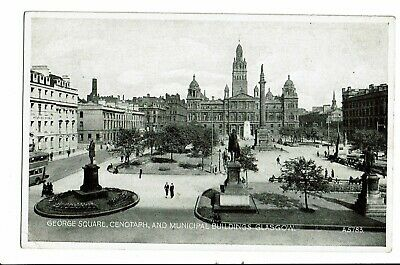 CPA-Carte postale-  Royaume Uni - Glasgow - Georges Square  VM2234