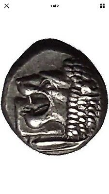 MILETOS in IONIA 525 BC Archiac Ancient SILVER  Greek coin