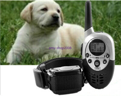 1000 Yard Waterproof Rechargeable Remote Electric Pet Dog Shock Vibrate Training