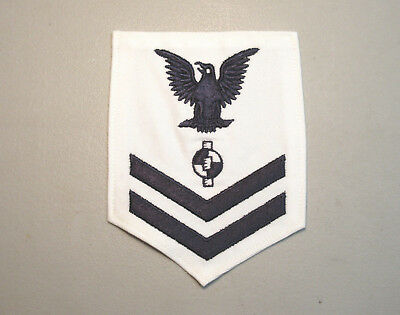 US Navy 3rd Class Petty Officer Crow right pewter Hat or Lapel Pin JCH4458D146