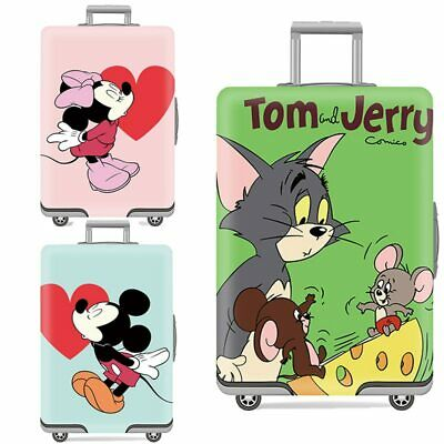 Mickey Pattern Elastic Luggage Cover Protector Dustproof18-32 Inch Trolley Suitc