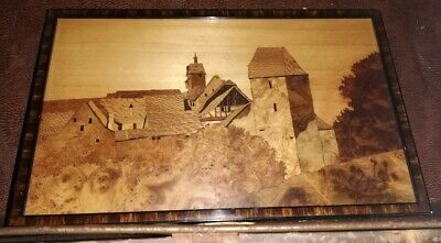 Early 20th Century Marquetry Panel by Charles Spindler
