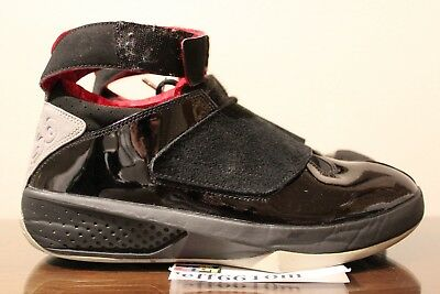 finest selection dc406 04ae6 2005 OG Original Air Jordan XX Black Varsity Red Stealth 20 Size 9.5 310455  001